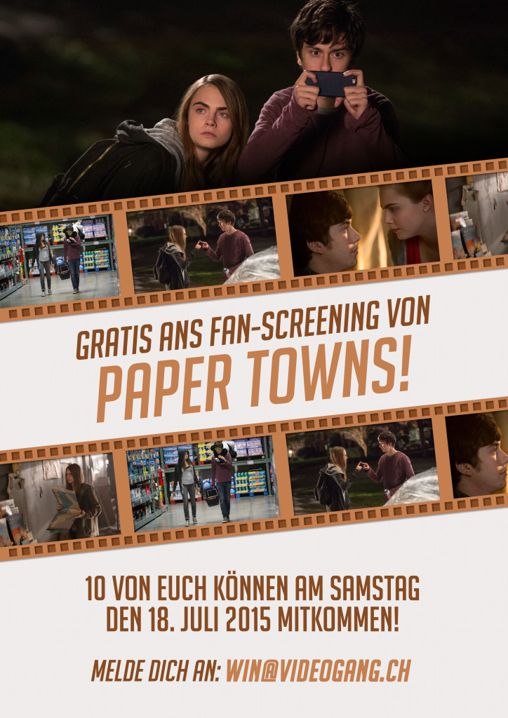MovieReview PAPER TOWNS